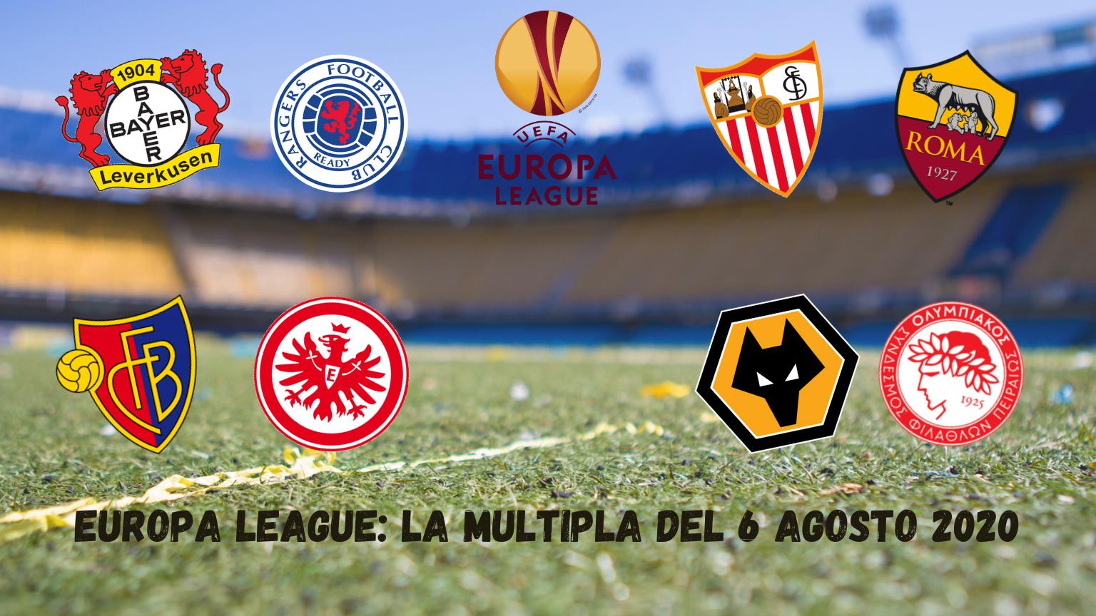 Pronostici Europa League: la Multipla del 6 agosto 2020