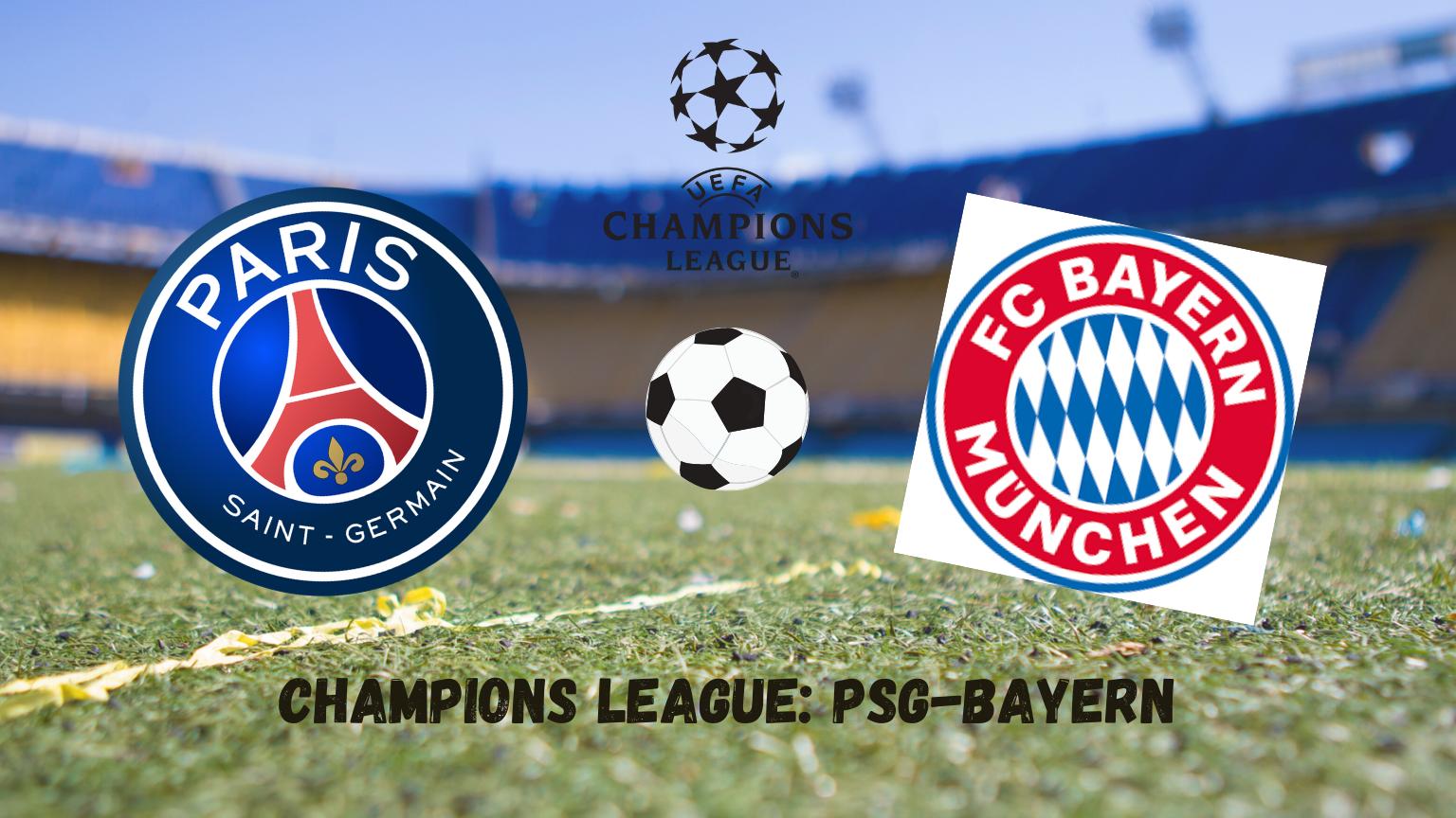 Pronostici Champions League: PSG-Bayern
