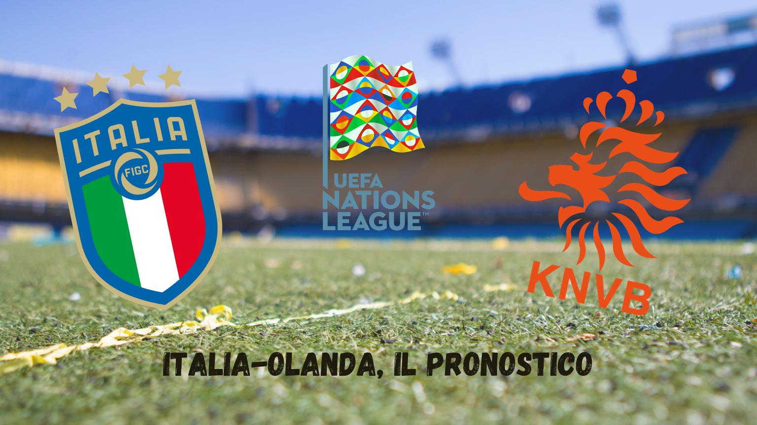Nations League: Italia-Olanda, il pronostico