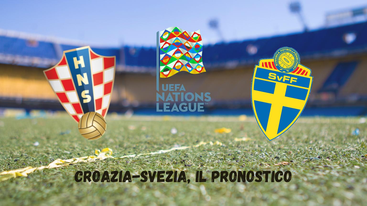 Nations League: Croazia-Svezia, il pronostico