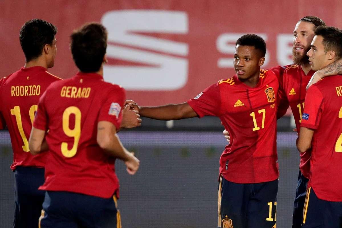 Nations League: Spagna-Svizzera, il pronostico