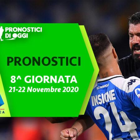 Serie A: il Video Pronostico dell'ottava giornata