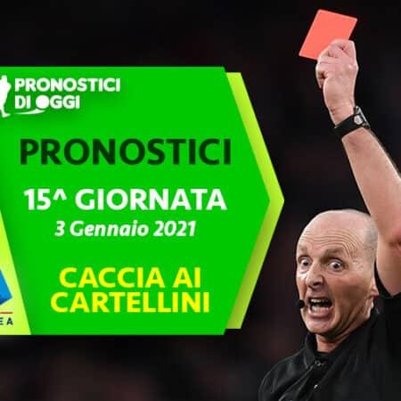 Serie A, il Video Pronostico della quindicesima giornata: caccia ai cartellini!