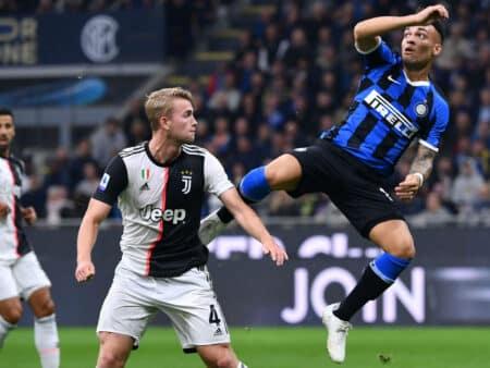 Serie A: arriva l'appetitosa quota maggiorata di Inter-Juventus!