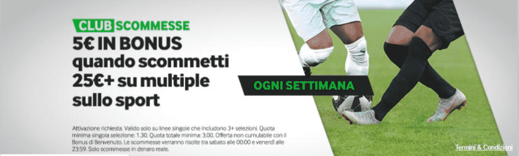 CLUB scommesse betway