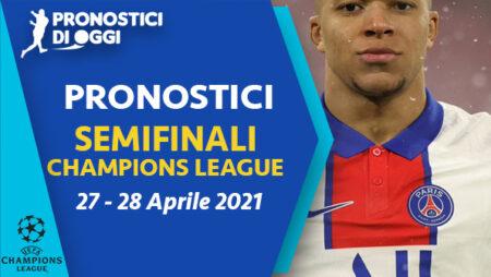 Champions: il Video pronostico dell'andata delle semifinali