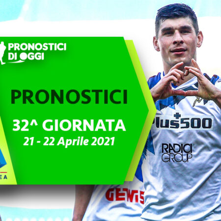 Serie A: il Video Pronostico della 32° giornata
