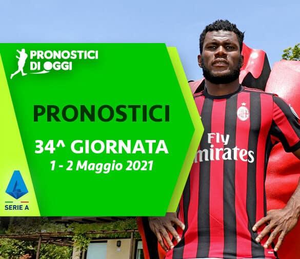 Serie A: il Video Pronostico della 34° giornata