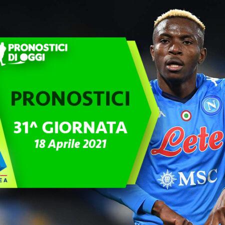 Serie A : il Video Pronostico della 31° giornata