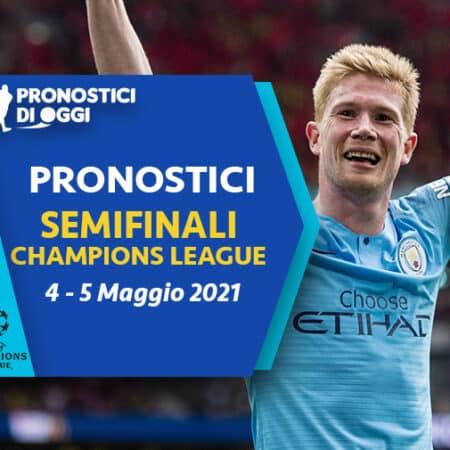 Champions: il Video Pronostico del ritorno delle semifinali